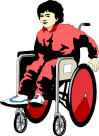 orthopedically handicapped